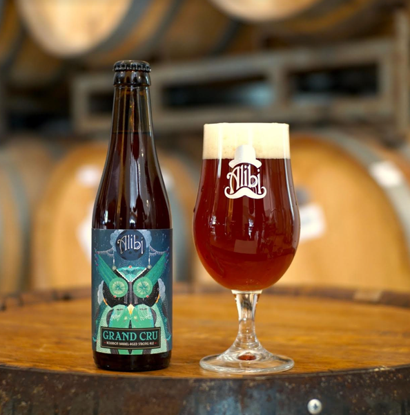 Grand cru bba alibi strong ale beer delivery bevv