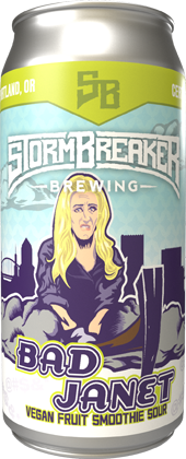 Stormbreaker brewing web store product bad janet