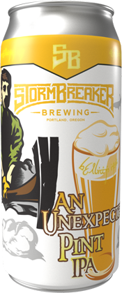 Stormbreaker brewing web store product unexpected
